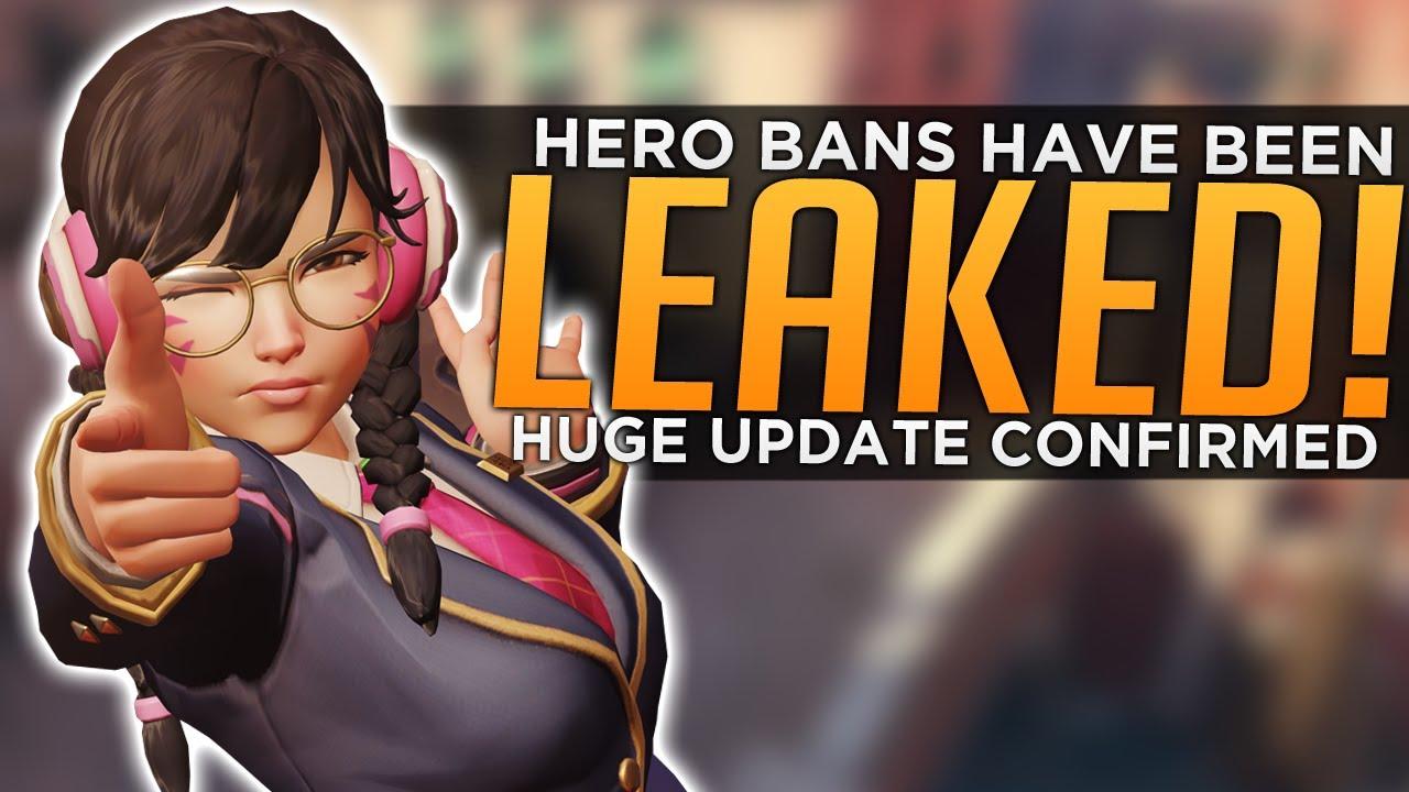 Overwatch: Hero Bans LEAKED! - HUGE Update Confirmed! thumbnail