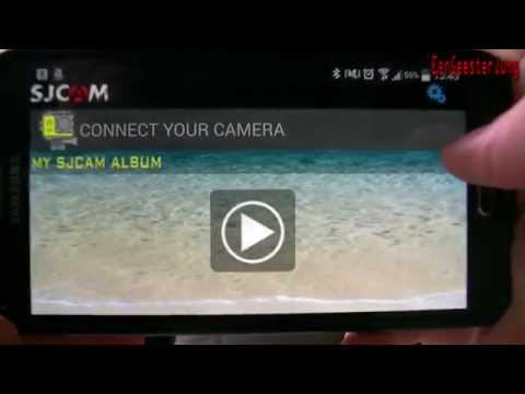 SJCAM SJ5000 WiFi + SJCAM HD App - deutsche Version