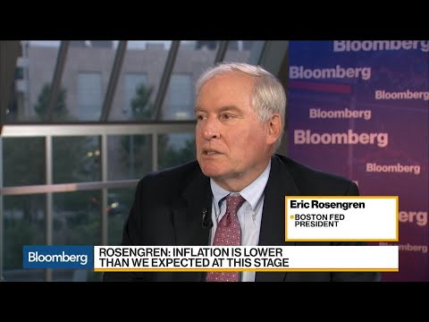 Rosengren Sees 2018 Underlying Inflation Close to 2%