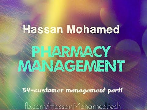 54-Pharmacy Management Project(Add New Customer)
