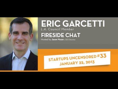 Eric Garcetti - Startups Uncensored #33 - January 22, 2013.mov
