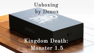 unboxing Kingdom Death Monster 1.5 (RUS)/Распаковка Kingdom Death Monster 1.5 на русском!