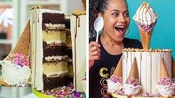 I Got The Worst Gift Ever... | Ice Cream Birthday Cake | How To Cake It
