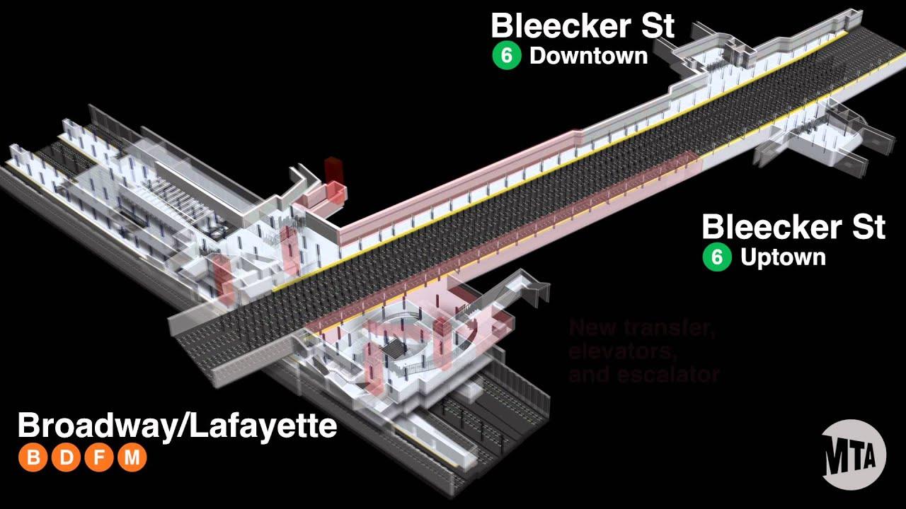 Broadway Lafayette Bleecker St Transfer