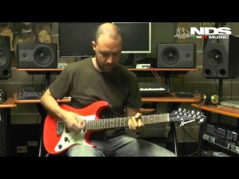 "Xavier Guitar Z-FMT II ""Pacific"" Test"