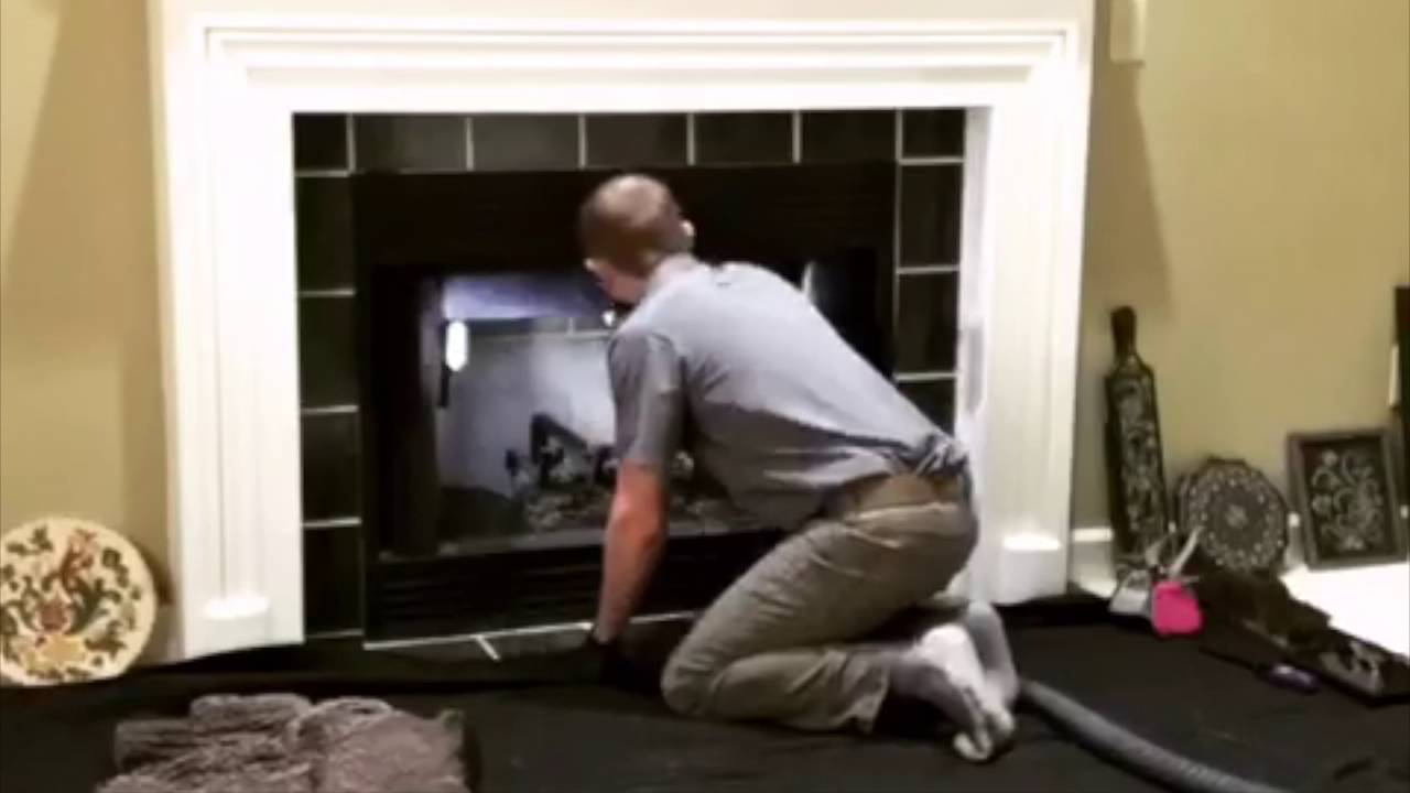 indianapolis gas logs cleaning u0026 chimney sweep youtube
