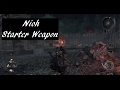 Nioh Recommended Starter Weapon
