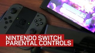 How to set up Nintendo Switch parental controls with a phone