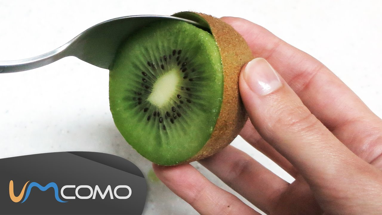 how to cut a kiwi youtube