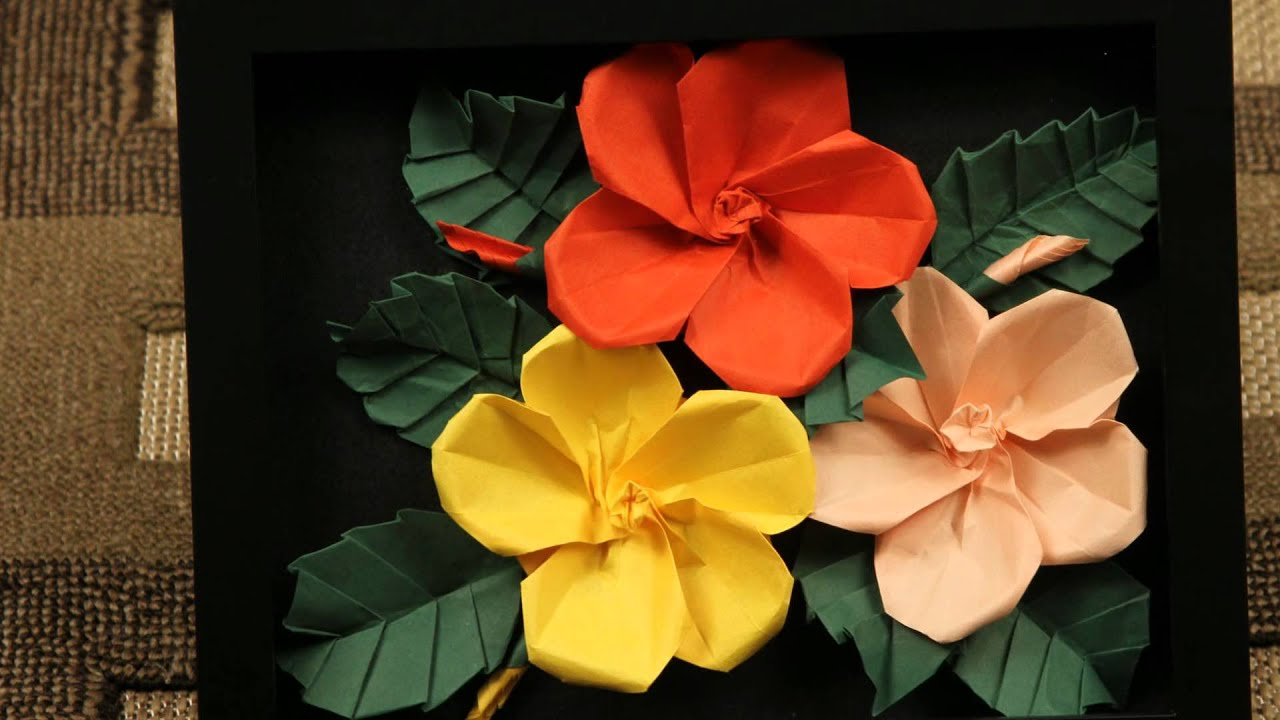 3d Origami Flowers