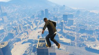 AWESOME GTA 5 PARKOUR STUNTS & FUNNY MOMENTS (Best Of Gta 5 Parkour)
