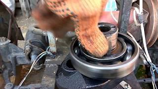 Ремонт двигателя R 195 краткий обзор робот...