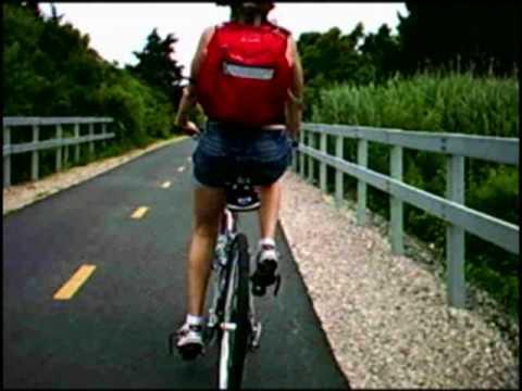 Shining Sea Bike Trail on Cape Cod, Falmouth