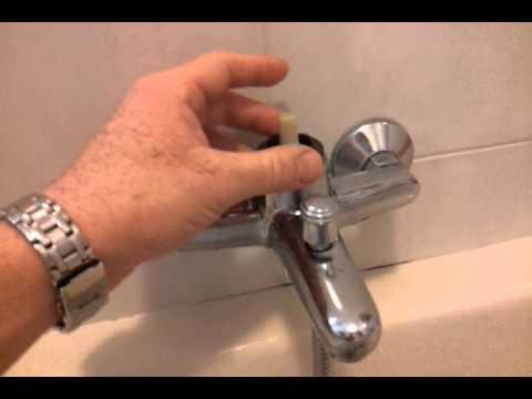 Rubinetteria Vasca Da Bagno Zucchetti : Sostituzione cartuccia miscelatore vasca da bagno youtube