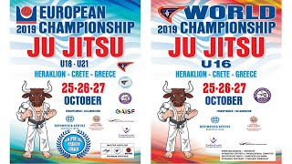 EC JJ U18-U21 / WC JJ U16 / Day 1 TATAMI 5-8