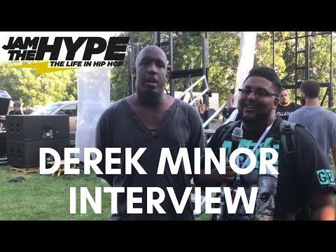 Derek Minor Interview at Legacy 2017