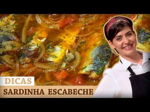 SARDINHAS A ESCABECHE Com Izabel | DICAS MASTERCHEF