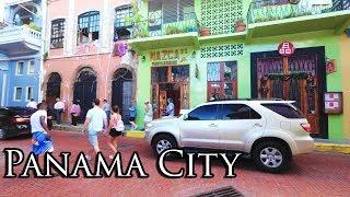 (3) Walking Panamá City Dec 2017 - Casco Viejo (Old Quarter) 4K