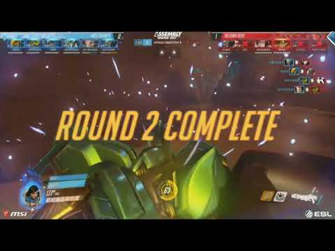 Helsinki REDS vs ENCE - BO5 Map 2,3 @Temple d'Anubis @King's Row Semi-finals - Assembly