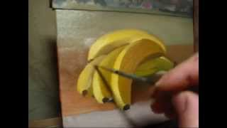 Eric J Chapman Art - Daily Painting Time Lapse - Gone Bananas!