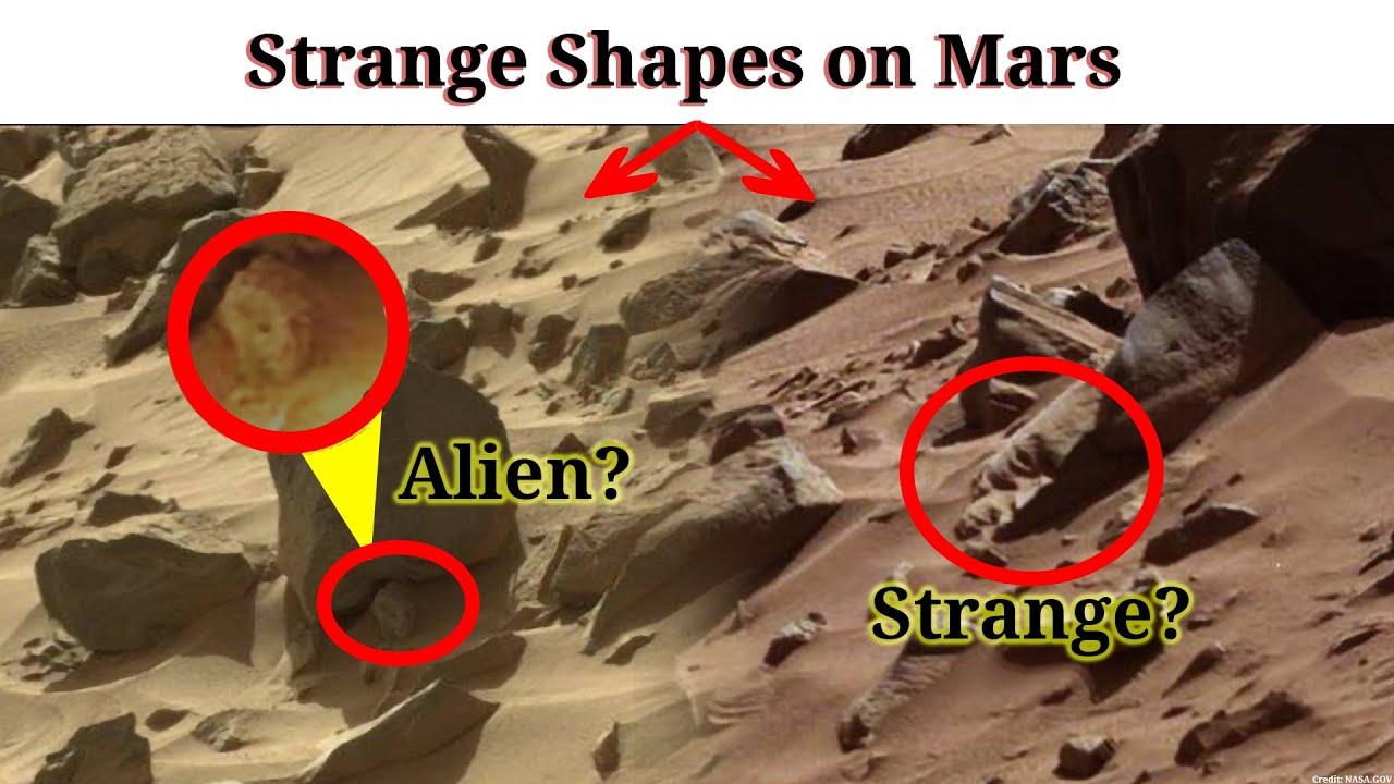 Download Martian Strange Shapes on Mars | Marte Curiosity Perseverance