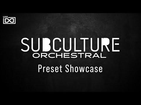 UVI SubCulture Orchestral for Falcon |Preset showcase