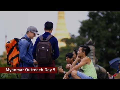 Man touched by the gospel | Myanmar Outreach