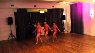 Caliente | Ladies Footwork Performance | Toronto Dance Salsa