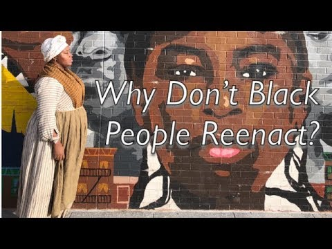 Why Don't Black People Reenact?
