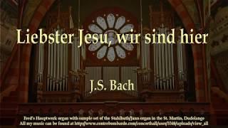 Liesbster Jesu, wir sind hier, J S  Bach
