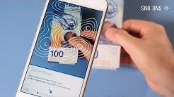 "App ""Swiss Banknotes"" - Application ""Swiss Banknotes"" - 'Swiss Banknotes' app"