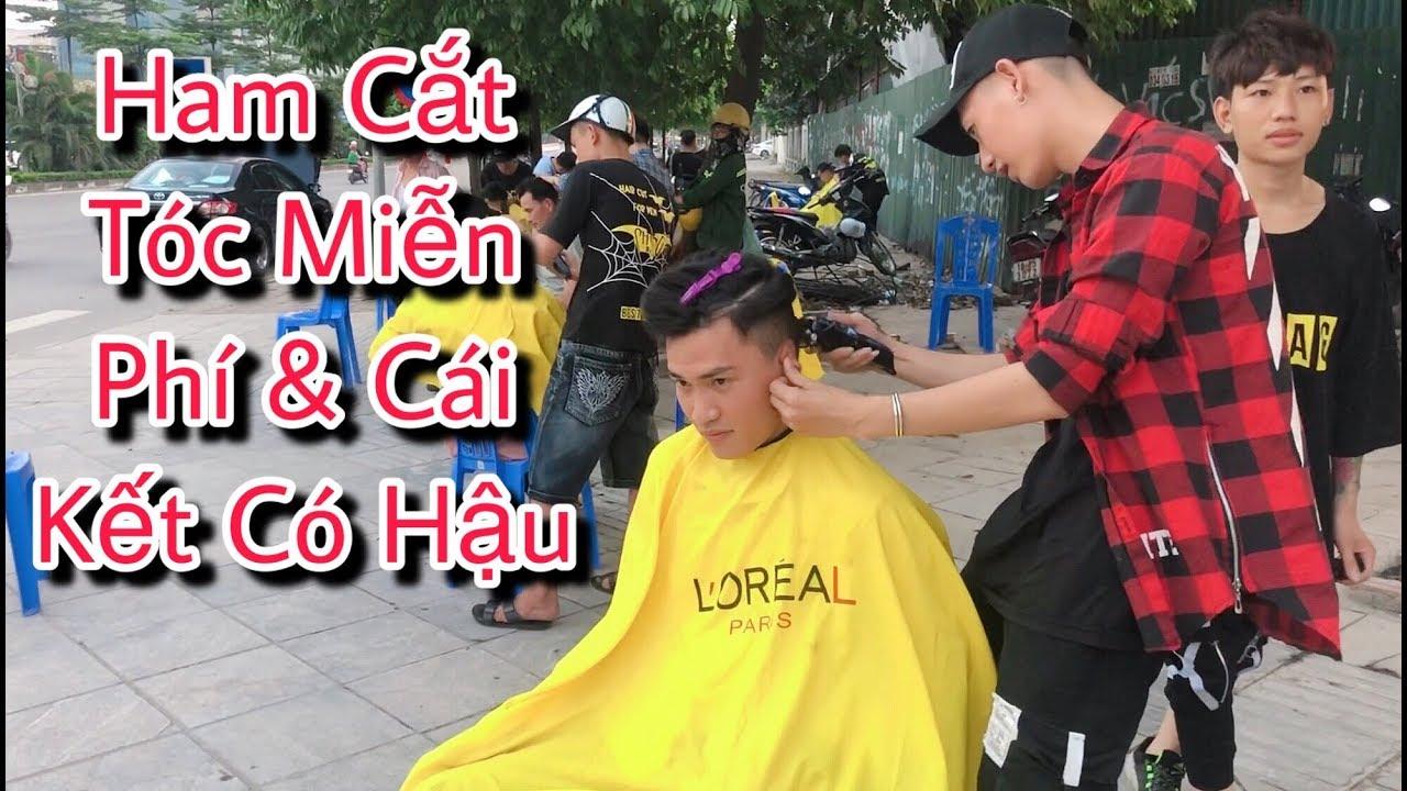 Lần Đầu Trải Nghiệm Cắt Tóc Đường Phố ở Hà Nội | DEGO TV