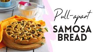 Pull-apart Samosa Bread Recipe