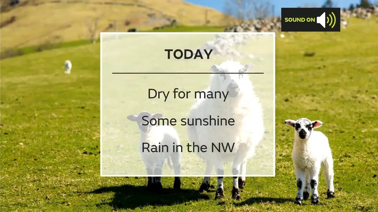 Sunday afternoon forecast 18/04/2021