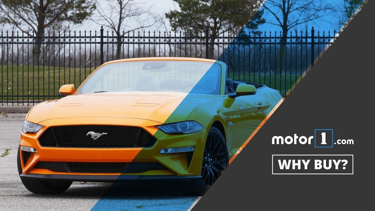 Why buy 2018 ford mustang gt convertible review