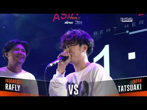 RAFLY VS TATSUAKI|Asia Beatbox Championship 2018  Semi Final  Solo Beatbox Battle