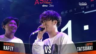 RAFLY VS TATSUAKI|Asia Beatbox Championship 2018  Semi Final  Solo Beatbox Battle