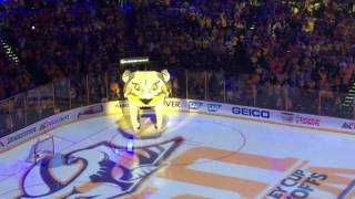 Nashville Predators - game 3 intro