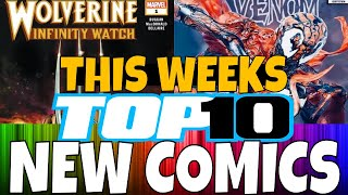 TOP 10 NEW COMICS WEEKLY PICKS RELEASING FEBRUARY 20TH. MARVEL COMICS DC COMIC BOOKS VARIANT COMICS