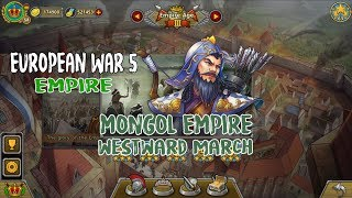 European War 5 : Empire The Golden Horde - Westward March