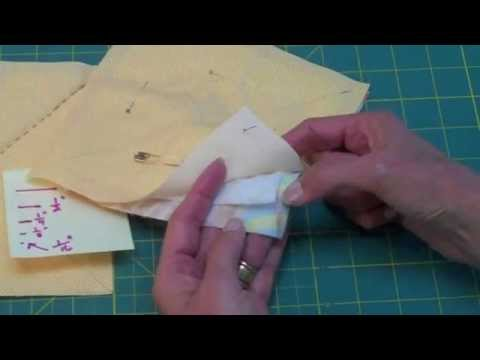 ELEMENTARY QUILT-- Sewing Block By Hand (#10 Of 16 Videos) - LearnHowToQuilt.com CLASSES