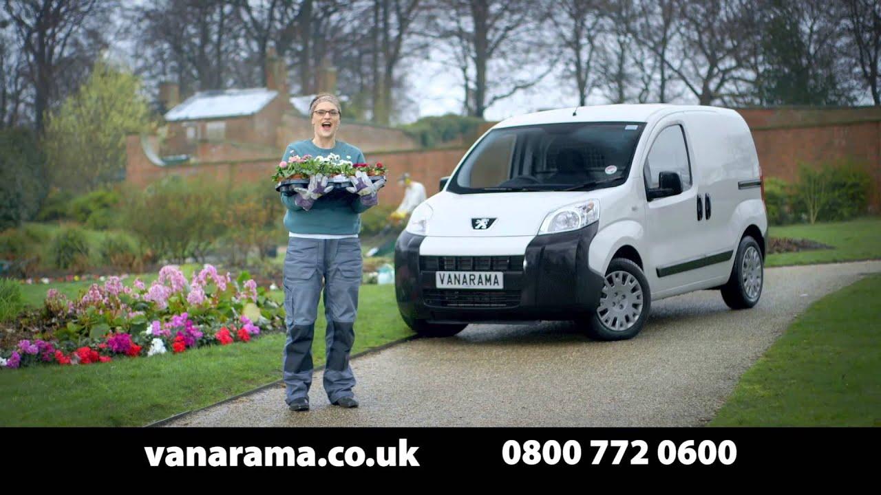 Vanarama Van Leasing TV Advert (Peugeot Bipper) - 2014