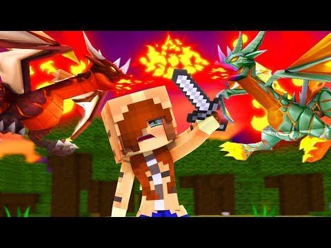 Minecraft Dragons  DRAGON BATTLE!? Season Finale Minecraft Roleplay  Episode 25