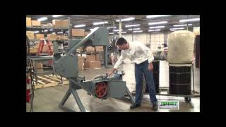 Bandsaw Dust Collection System Demonstration