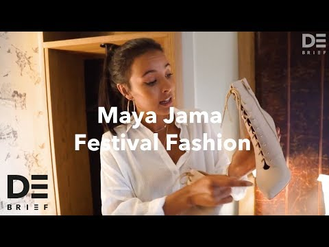 Maya Jama Festival Fashion | In Your Festival Bag | The Debrief