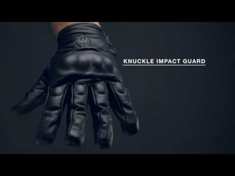 Damascus ATX-95 - All-Leather Gloves with Knuckle Guards
