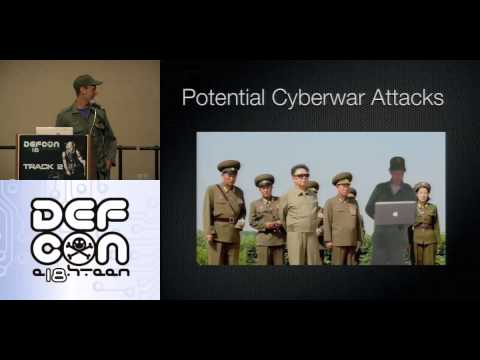 DEF CON 18 - Charlie Miller - Kim Jong-il and Me: How to Build a Cyber Army to Defeat the U.S.