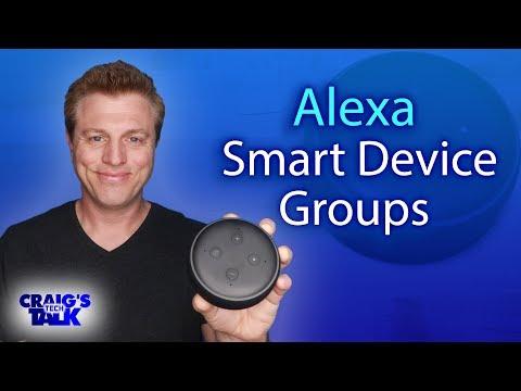 Amazon Alexa Smart Home Group Setup - Lights & Music features