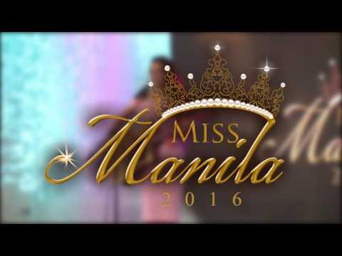 Miss Manila 2016 - Talent Portion