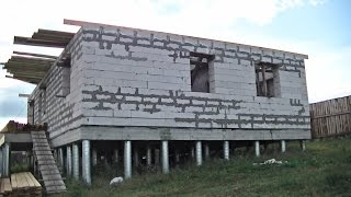 Как построить дом. Часть 2. Стены.